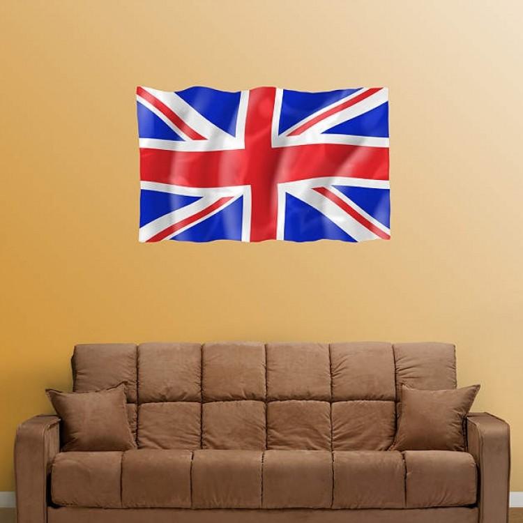 UK Flag- Logo size REAL.BIG. Fathead