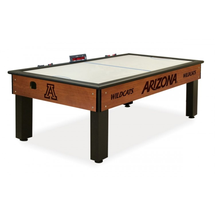 Arizona Wildcats Chardonnay Air Hockey Table