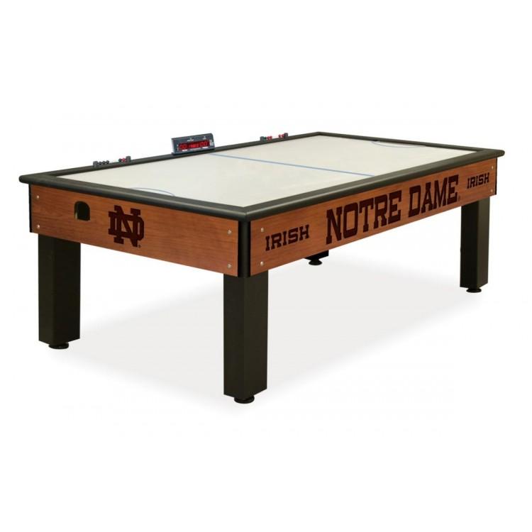 Notre Dame Irish (ND) Chardonnay Air Hockey Table