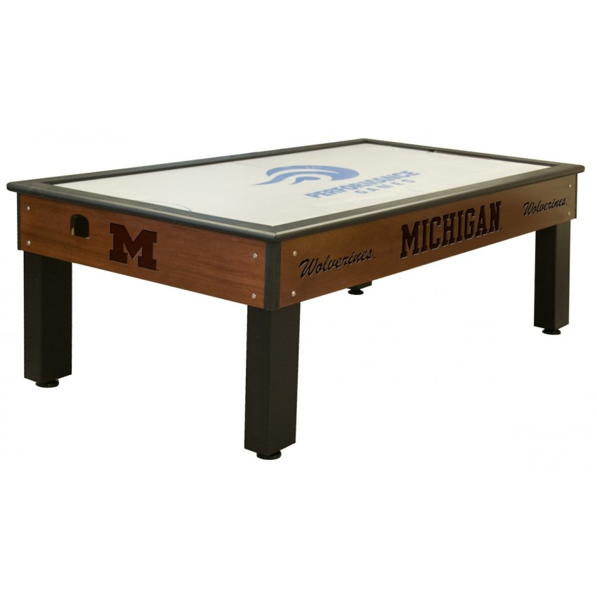 Admirable Michigan Wolverines Air Hockey Table Gmtry Best Dining Table And Chair Ideas Images Gmtryco