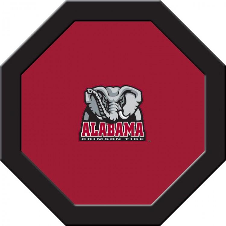 Alabama Crimson Tide Game Table Cloth - Round