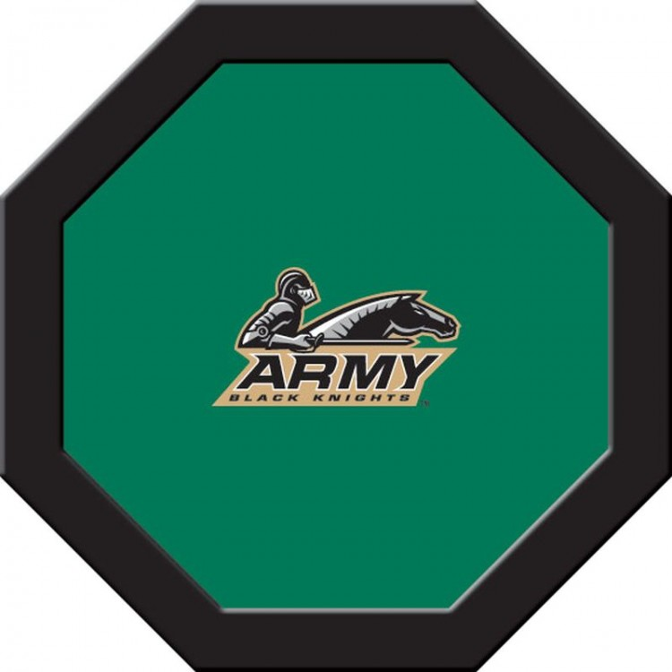 Army Black Knights Game Table Cloth - Round