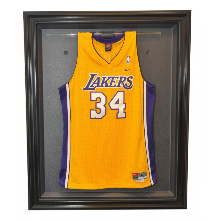 Basketball Removable Face Jersey Display, Black
