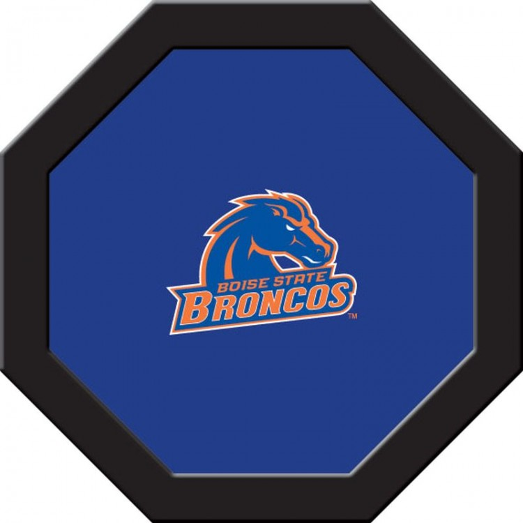 Boise State Game Table Cloth - Round