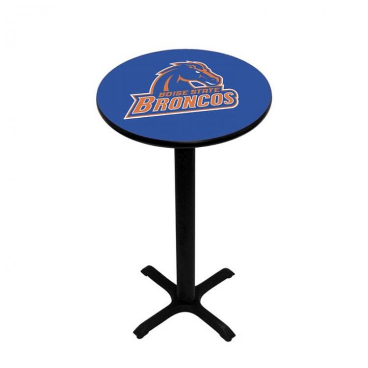 Boise State Pedestal Pub Table