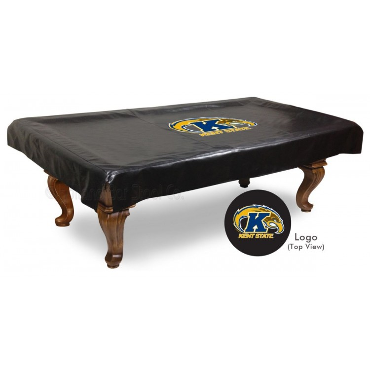 Kent State Golden Flashes 8' Billiard Table Cover