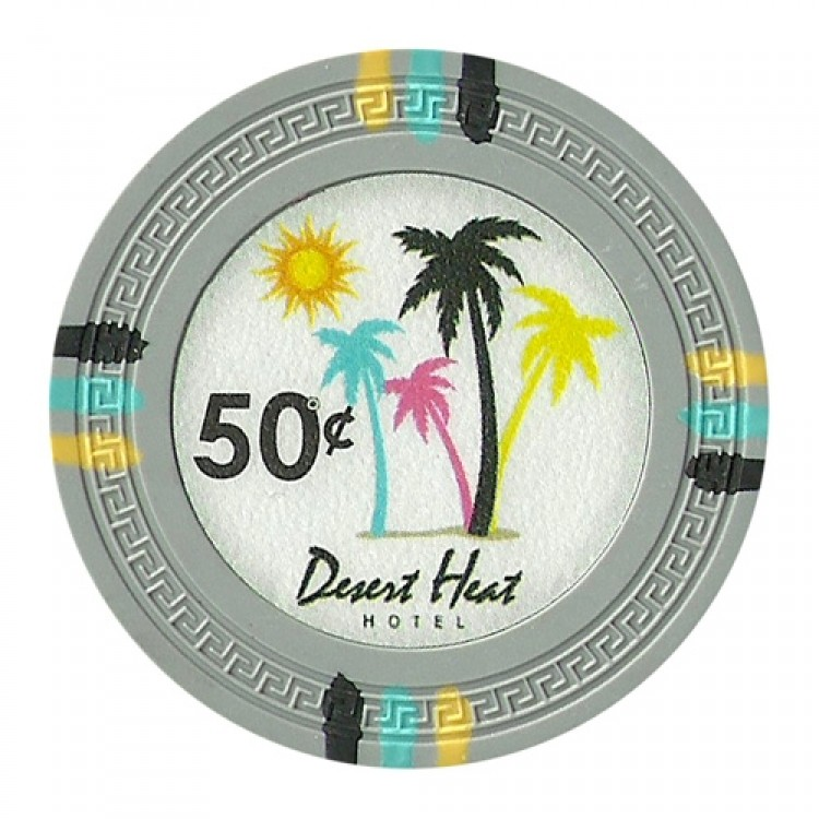 Roll of 25 - Desert Heat 13.5 Gram - .50¢ (cent)