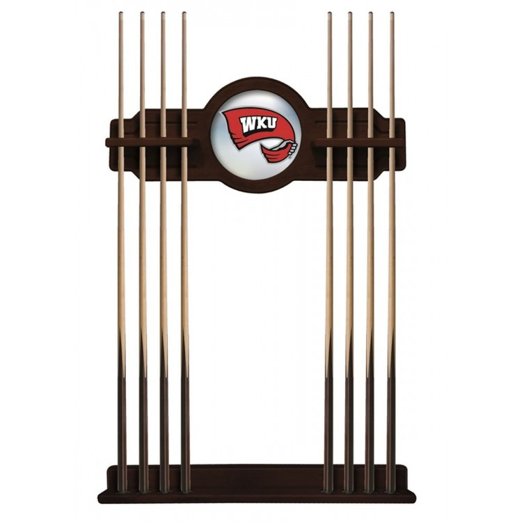 Western Kentucky Hilltoppers Cue Rack in English Tudor Finish