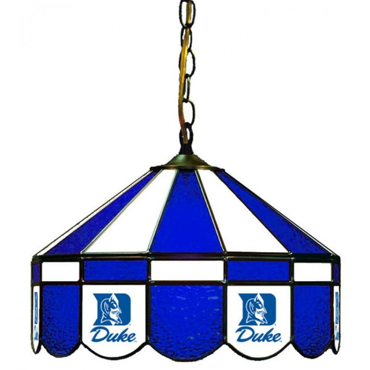 "Duke Blue Devils 16"" Swag Hanging Lamp"