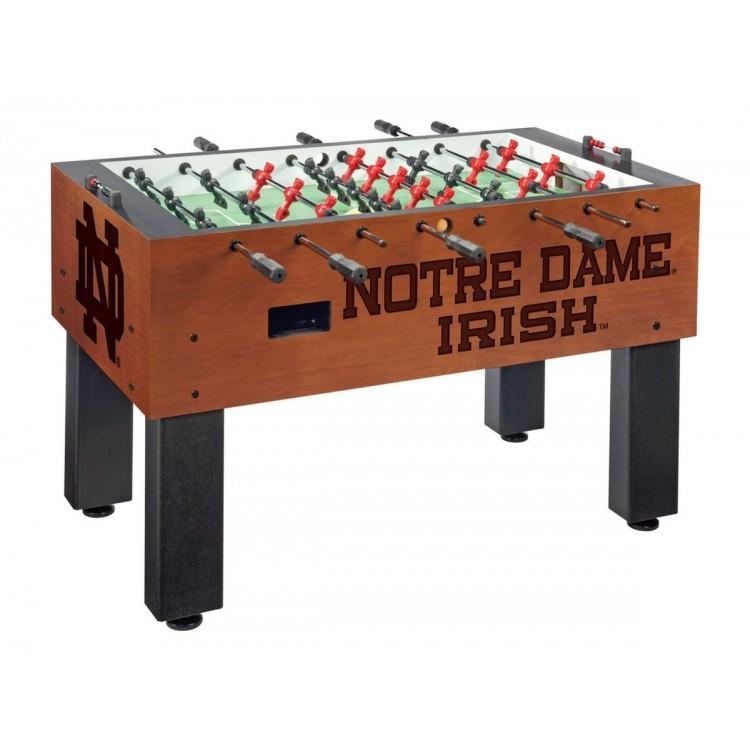Notre Dame Irish (ND) (ND) Chardonnay Foosball Table