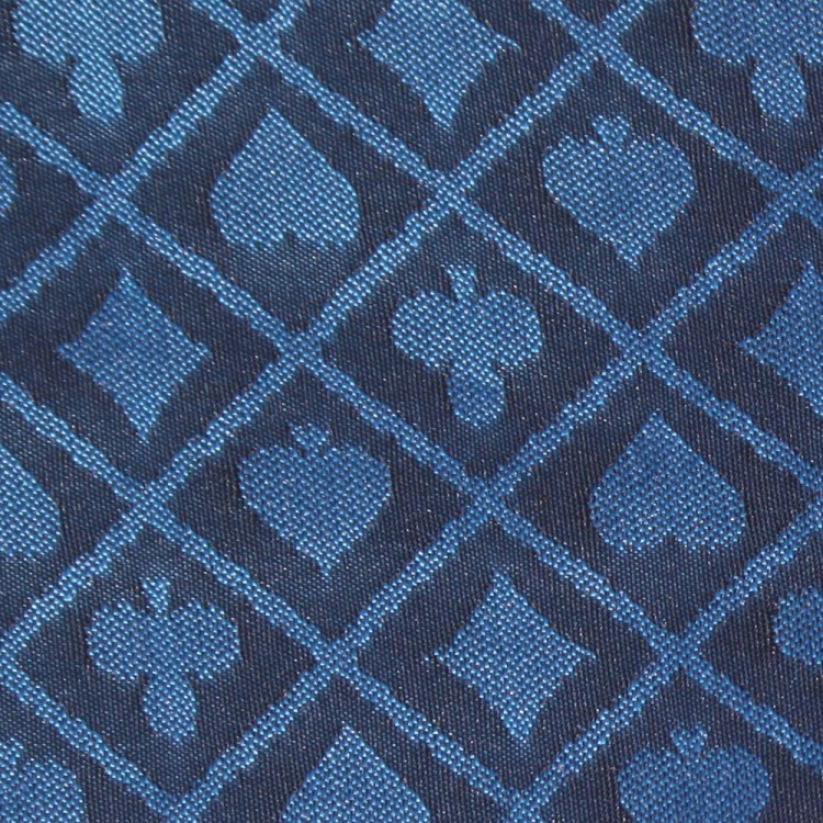 1 Ft Section of Blue Two-Tone Poker Table Speed Cloth
