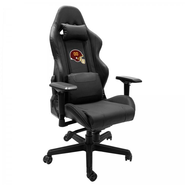 Washington Football Team Xpression Gaming Chair with Football Team Helmet Logo