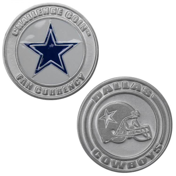 Challenge Coin Card Guard - Dallas Cowboys