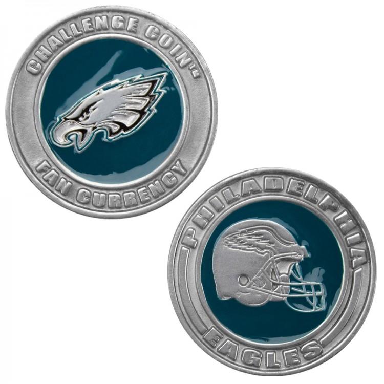 Challenge Coin Card Guard - Philadelphia Eagles