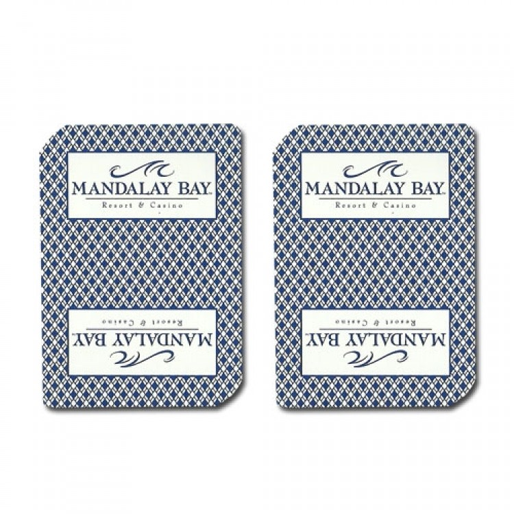 Single Deck Used in Casino Playing Cards - Mandalay Bay