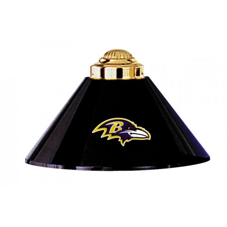Baltimore Ravens 3 Shade Metal Lamp