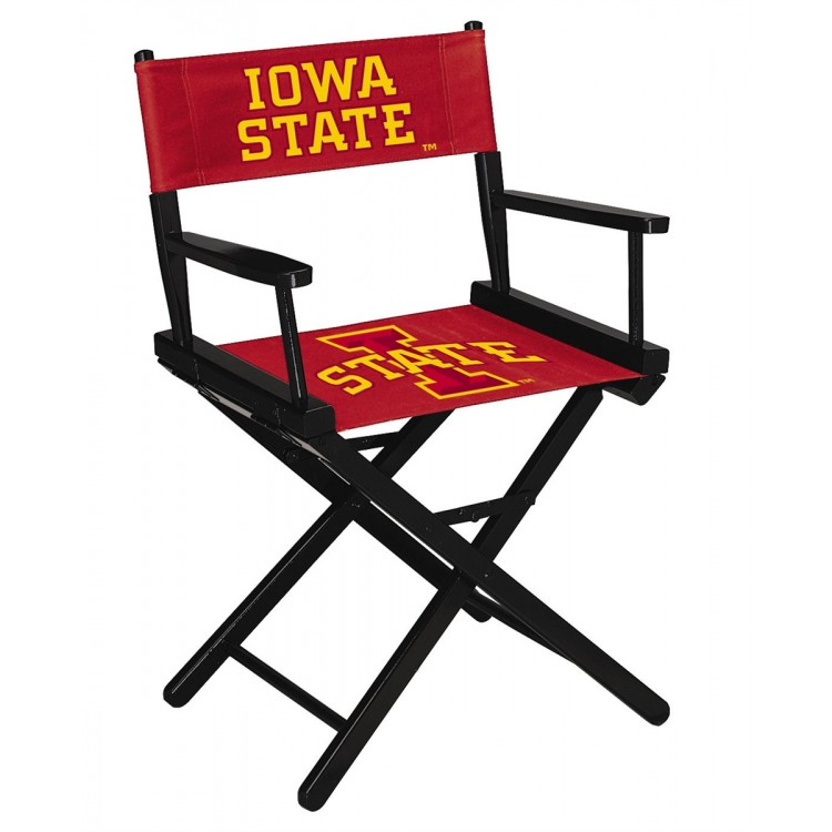 Iowa State Cyclones Table Height Directors Chair
