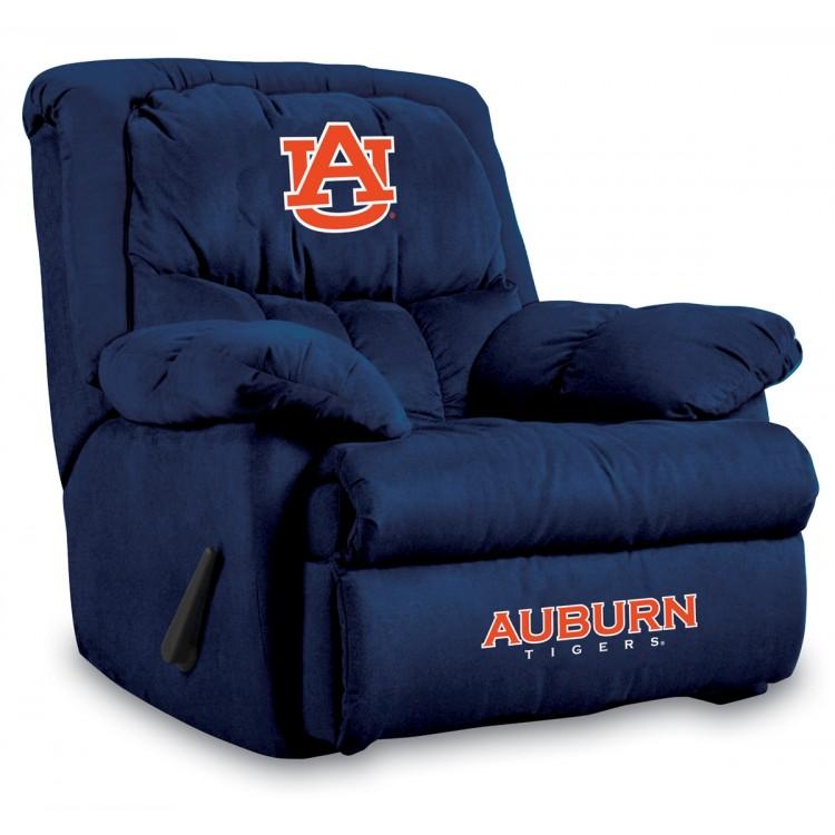 Auburn Tigers Microfiber Home Team Recliner