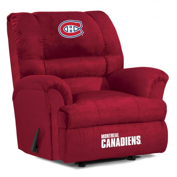 Montreal Canadiens Big Daddy Microfiber Recliner