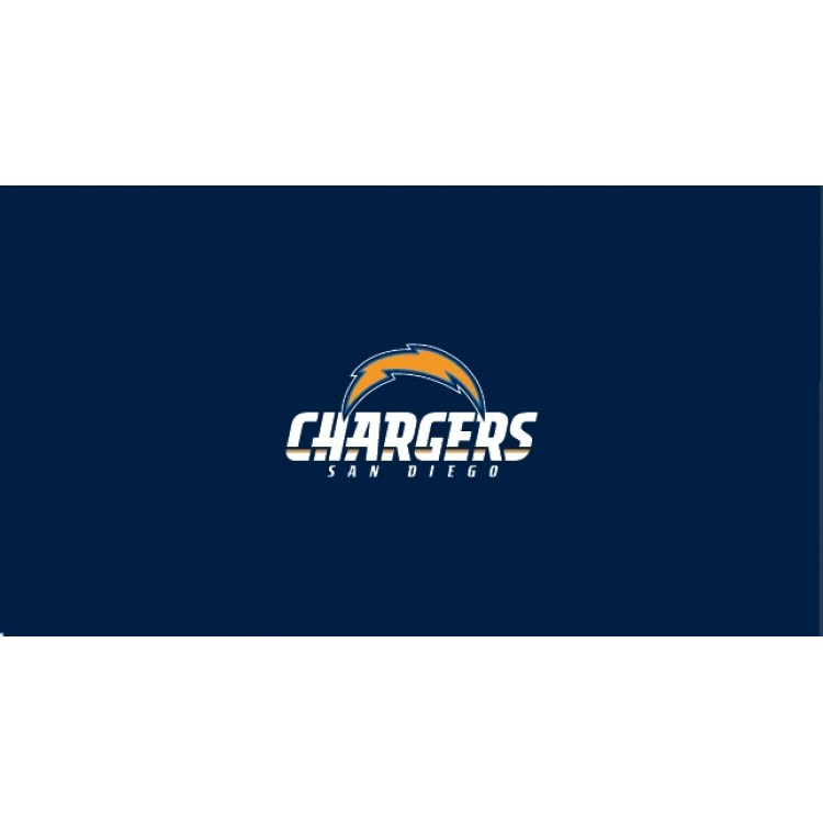 San Diego Chargers 8' Billiard Cloth