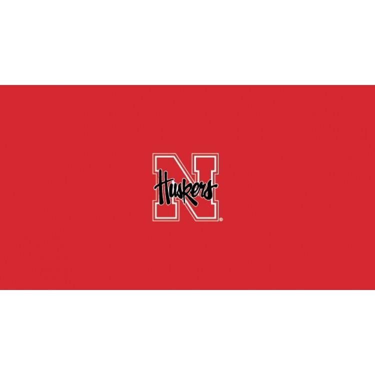 Nebraska Huskers 8' Pool Table Cloth