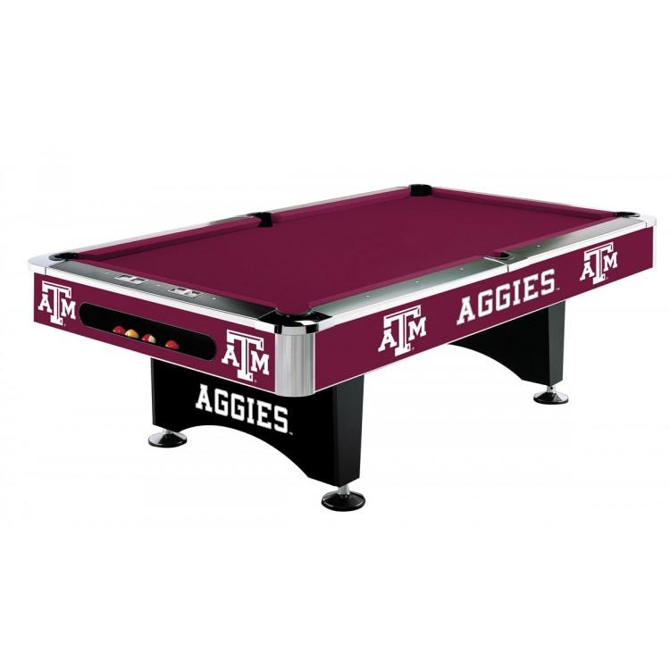 Texas A&M Aggies 8' Pool Table
