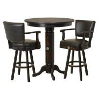 Jack Daniels Wood Pub Table Amp Backrest Stool Set Tn