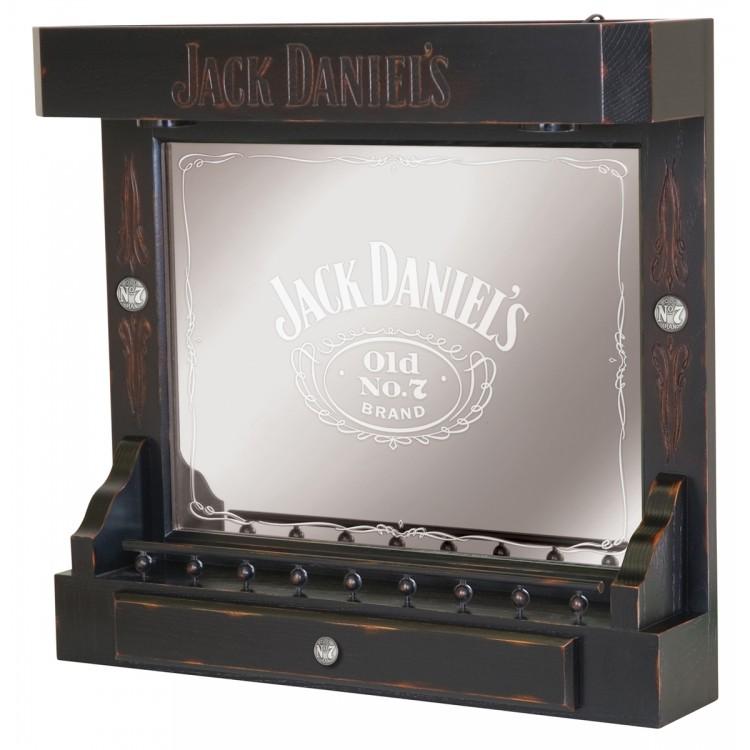 Jack Daniels Back Bar - TN Charcoal Finish