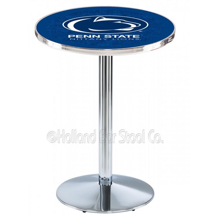"Penn State Nittany Lions 42"" L214 Chrome Pub Table"