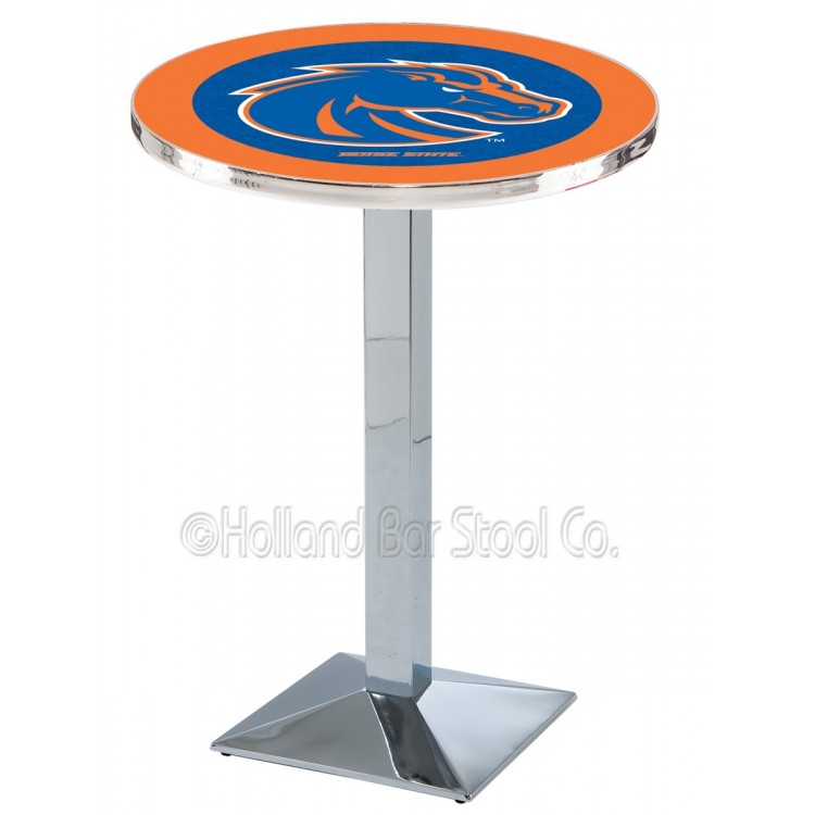 "Boise State Broncos 42"" Chrome L217 Pub Table"