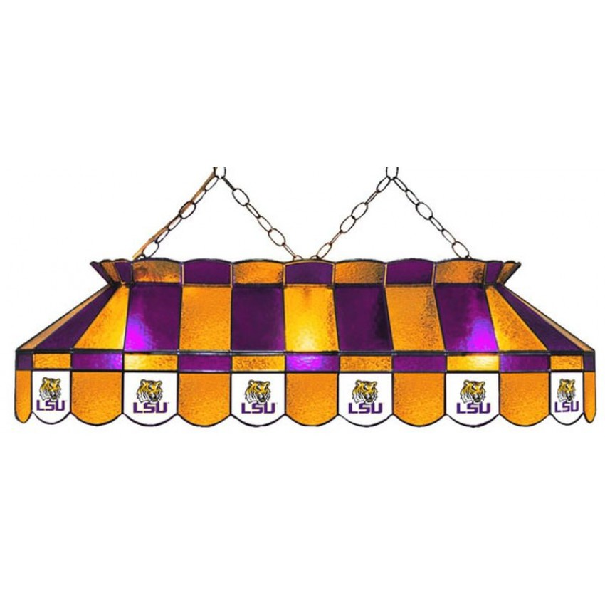Lsu 40 Full Size Pool Table Lamp