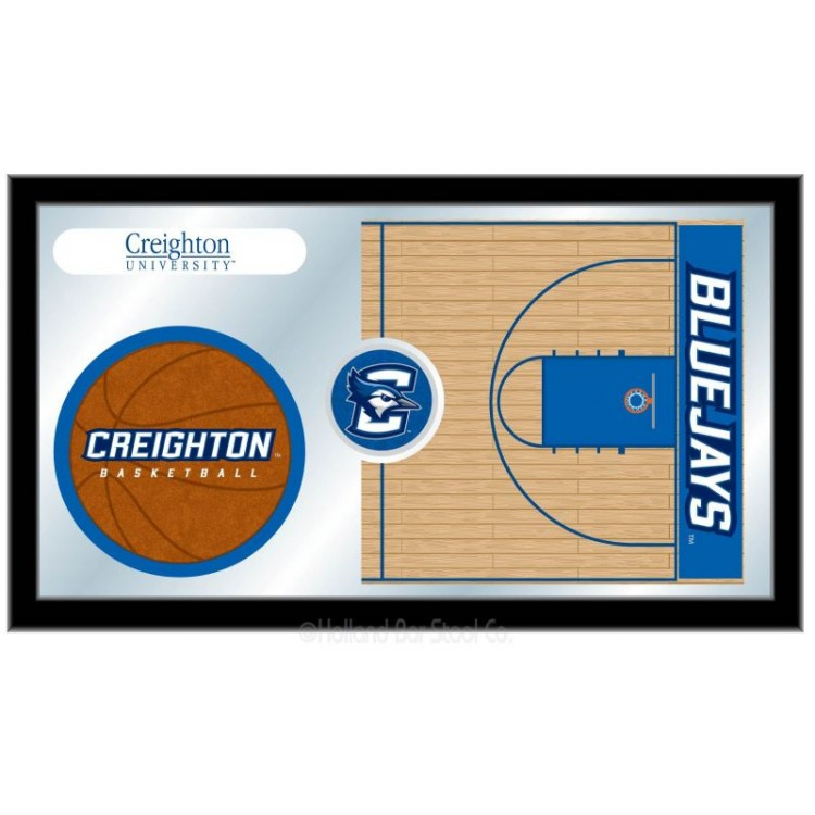 Creighton Blue Jays Basketball Mirror