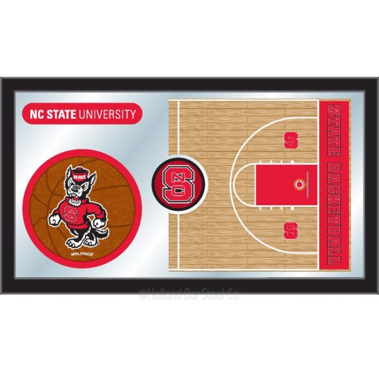 NC State Wolfpack Basketball Mirror