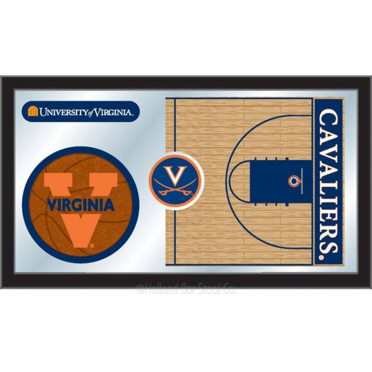 Virginia Cavaliers Basketball Mirror