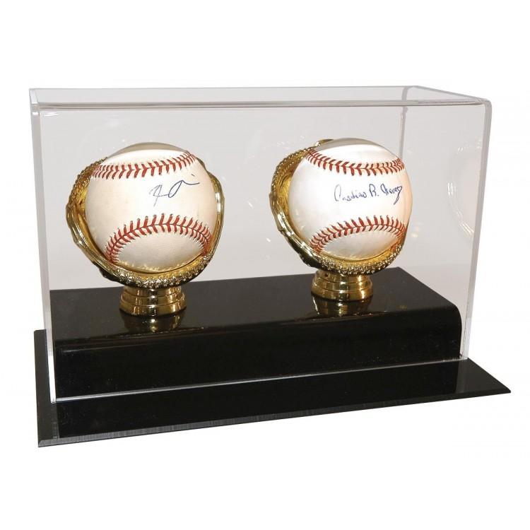 2 Baseball, Gold Glove Display