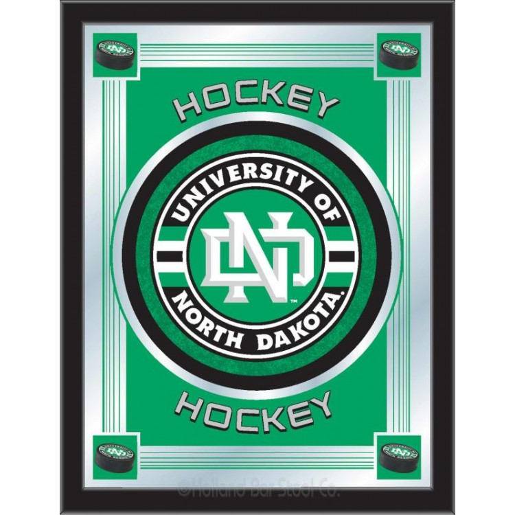 North Dakota Sioux Hockey Logo Mirror