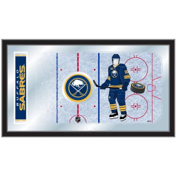 Buffalo Sabres Hockey Rink Mirror