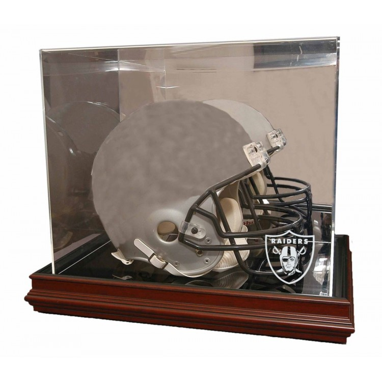 Oakland Raiders Boardroom Base Helmet Display