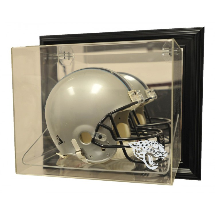 "Jacksonville Jaguars Helmet ""Case-Up"" Display, Black"