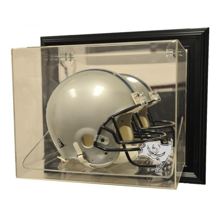 "Tampa Bay Buccaneers Helmet ""Case-Up"" Display, Black"