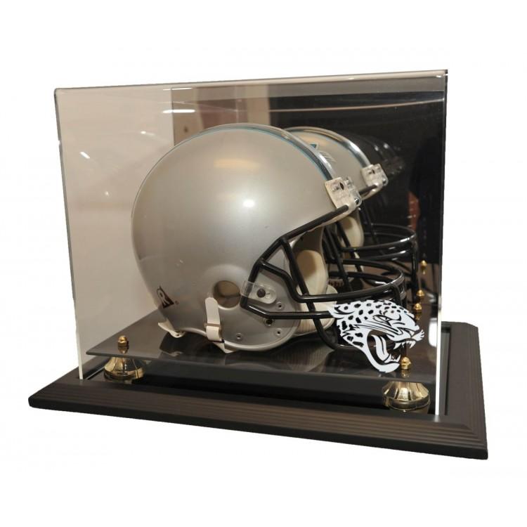 Jacksonville Jaguars Zenith Helmet Display, Black