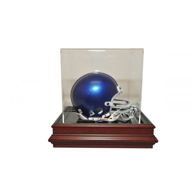 Carolina Panthers Boardroom Base Mini Helmet Display