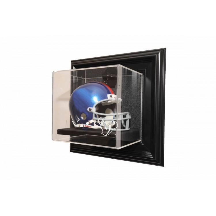 Houston Texans Mini helmet âœCase-Up❠Display, Black