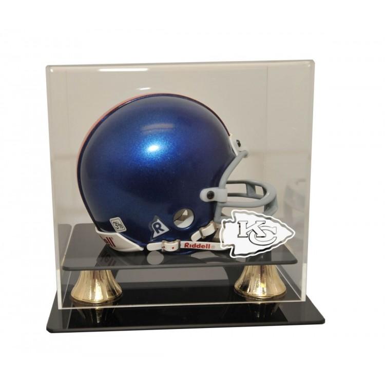 Kansas City Chiefs Deluxe Mini Helmet Display