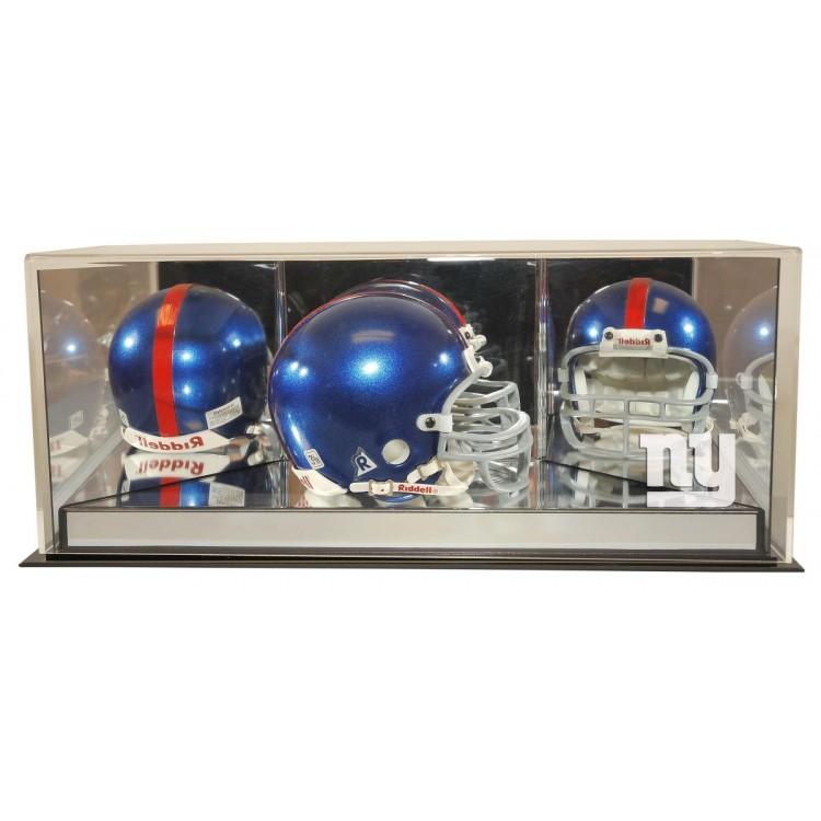 New York Giants 4th Dimension Mini Helmet Display