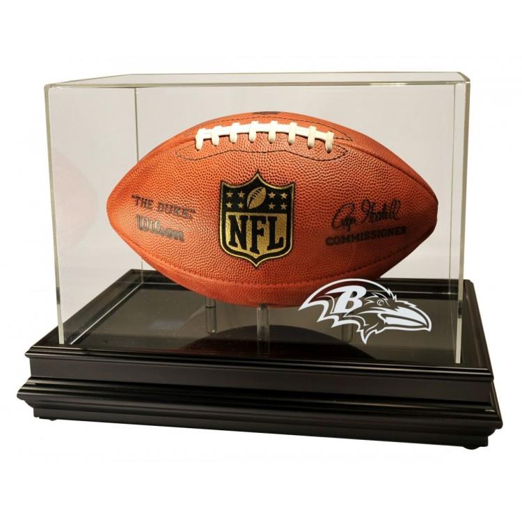 Baltimore Ravens Boardroom Football Display, Black