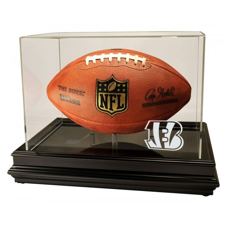 Cincinnati Bengals Boardroom Football Display, Black