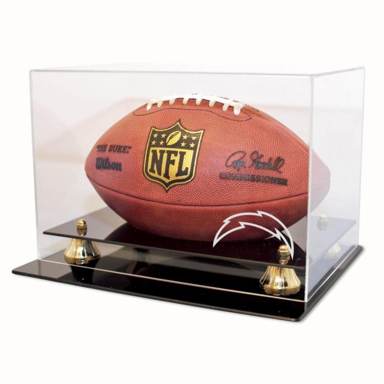 San Diego Chargers Coach's Choice Football Display
