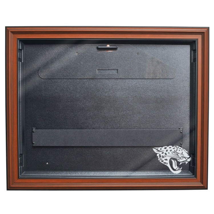 Jacksonville Jaguars E-Z Removable Face 3/4 View Jersey Display, Brown