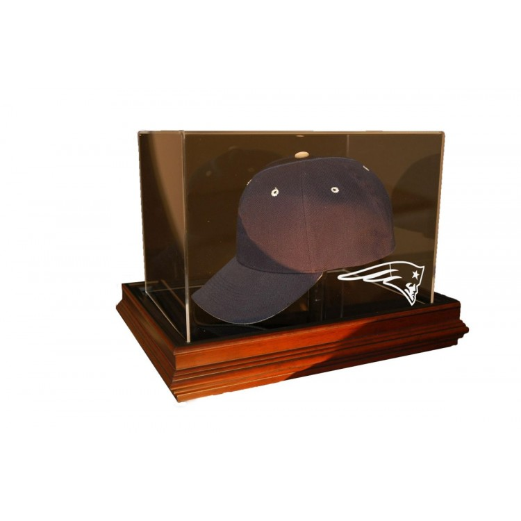 New England Patriots Boardroom Cap Display